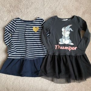 H&M Toddler Dresses 2-4yo